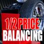1/2 PRICE WHEEL BALANCING